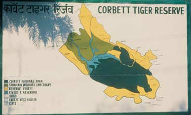 Map of Corbett National Park, route of Corbett National Park, maps of Corbett National Park, how to reach Corbett National Park, maps of Corbett National Park,