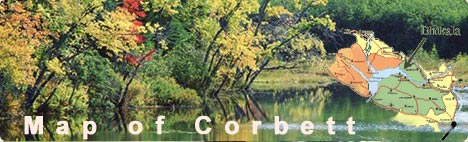 Corbett National Park, route of Corbett National Park, maps of Corbett National Park, how to reach Corbett National Park, maps of Corbett National Park Map